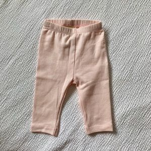 First impressions leggings. Pink. 0-3mo